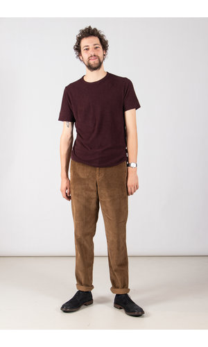 Hannes Roether Hannes Roether T-Shirt / Pinto / Eggplant