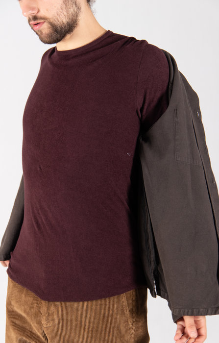 Hannes Roether Hannes Roether T-Shirt / Pinto / Aubergine