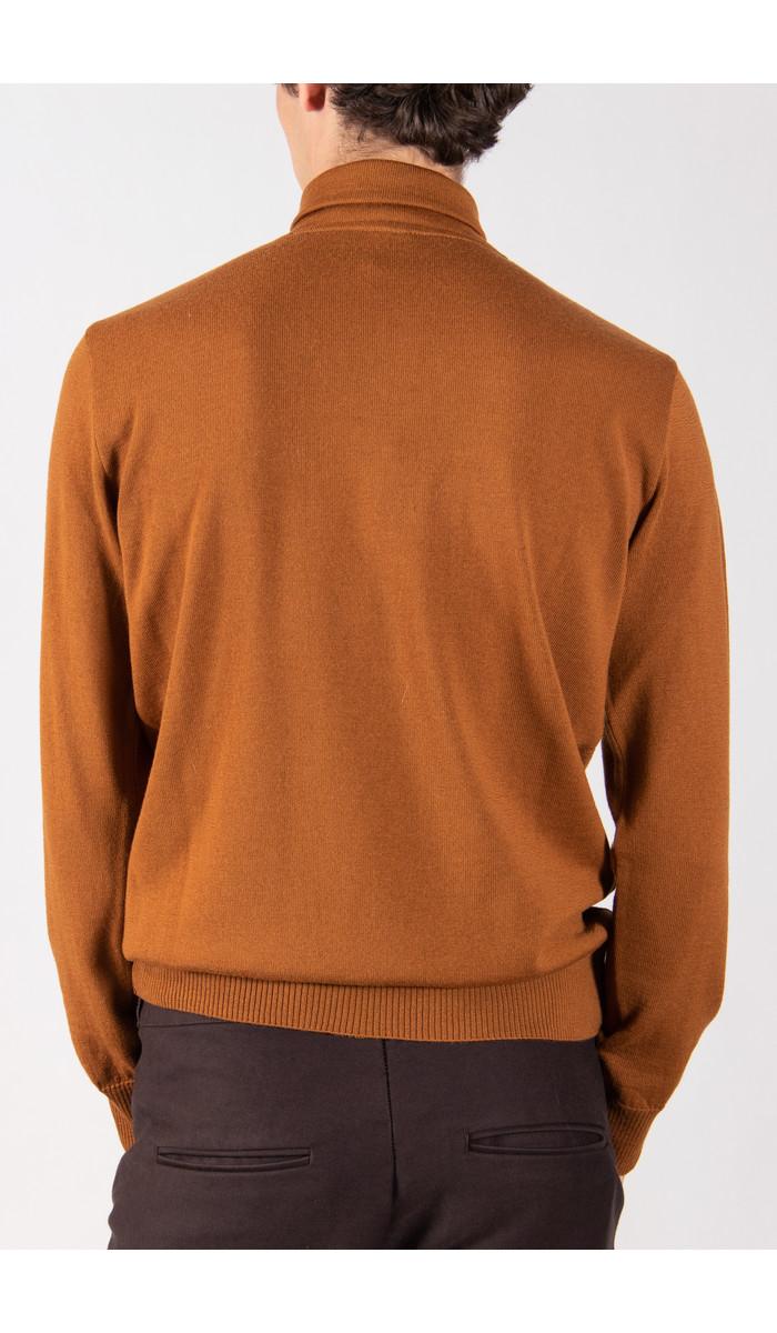 G.R.P. Firenze G.R.P. Sweater / SFTEC1 / Cognac