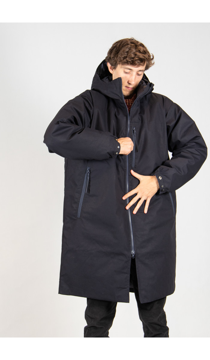 Nanamica Jas / Down Coat / Navy