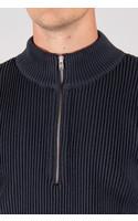 S.N.S. Herning Sweater / Fender S. Zip / Grey