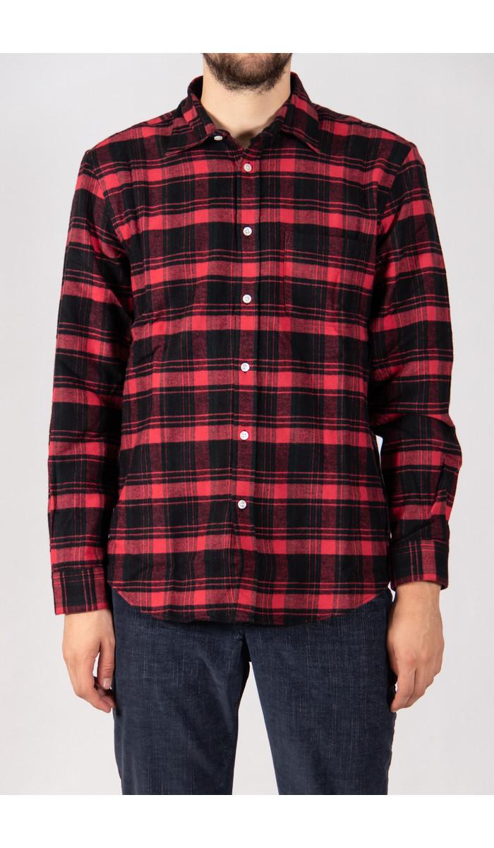 Portuguese Flannel Portuguese Flannel Shirt / Pink Panter / Black Red
