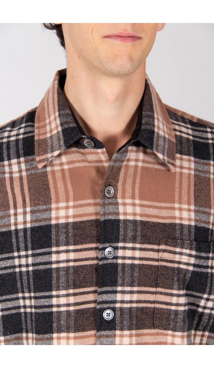 Our Legacy Our Legacy Overhemd / Above Shirt / Bruin