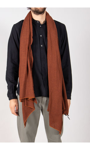 Hannes Roether Hannes Roether Scarf / Fluse / Red Brown