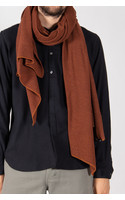 Hannes Roether Scarf / Fluse / Red Brown