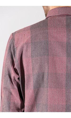 Delikatessen Delikatessen Overhemd / Strong Shirt / Multi Rood