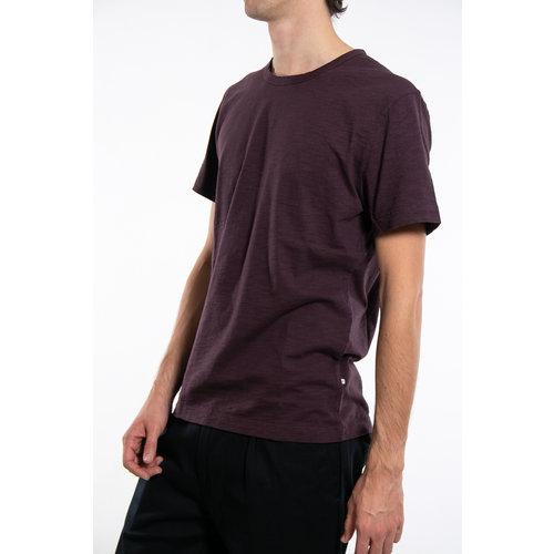 7d 7d T-Shirt / Fifty-Two / Plum