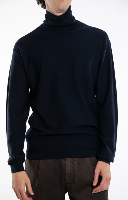 7d 7d Turtleneck / Thirteen / Dark Blue