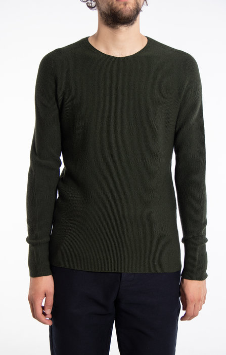 Hannes Roether Hannes Roether Sweater / Nickel / Green