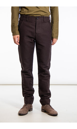 Hannes Roether Hannes Roether Trousers / Track / Dark Brown