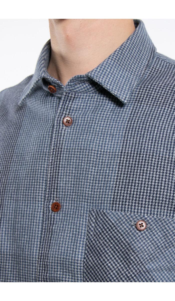 Delikatessen Delikatessen Shirt / Strong Shirt / Multi Blue