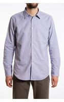 7d Overhemd / Jaspe / Blauw