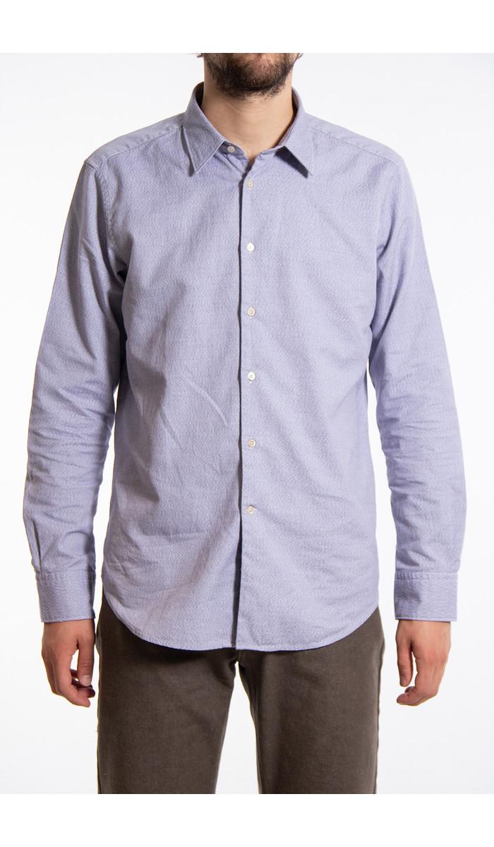 7d 7d Overhemd / Jaspe / Blauw