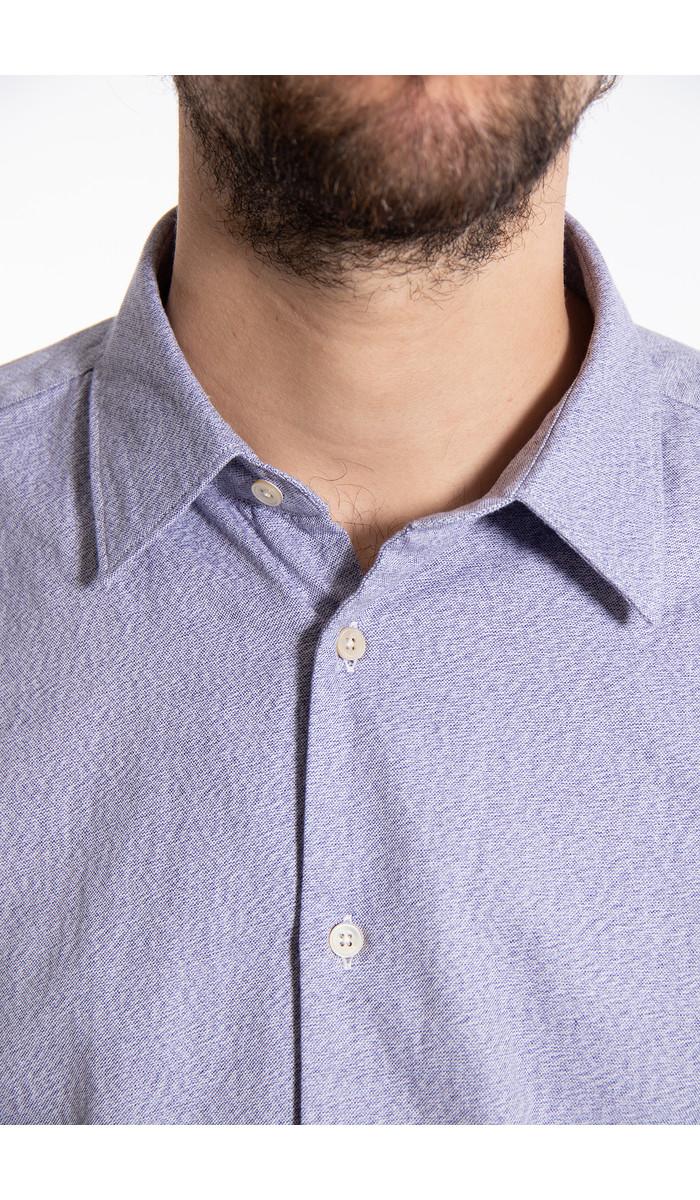 7d 7d Shirt / Jaspe / Blue
