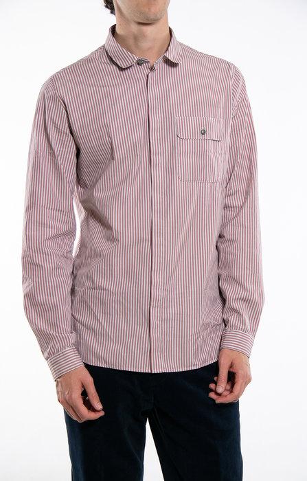 Delikatessen Delikatessen Shirt / Cute Shirt / Old Pink Stripe