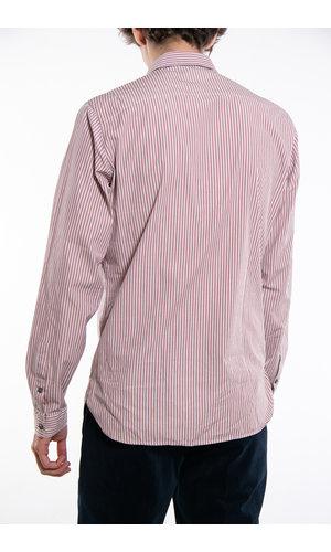 Delikatessen Delikatessen Overhemd / Cute Shirt / Oud Roze Streep