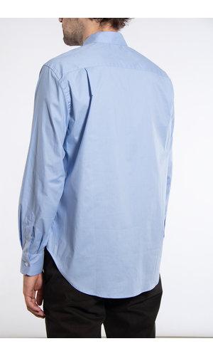 Yoost Yoost Overhemd / Mandarin Collar / Blauw