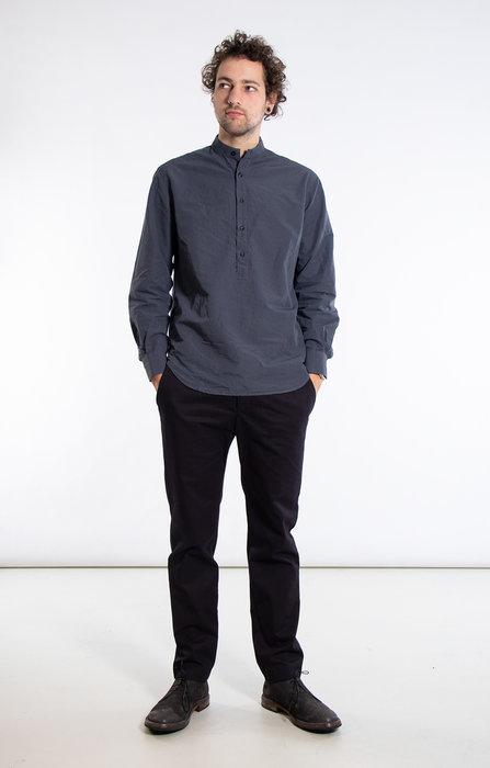 Yoost Yoost Overhemd / Mandarin Collar / Grijs