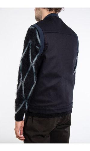 Yoost Yoost Jacket / Boiler Sleeveless / Navy