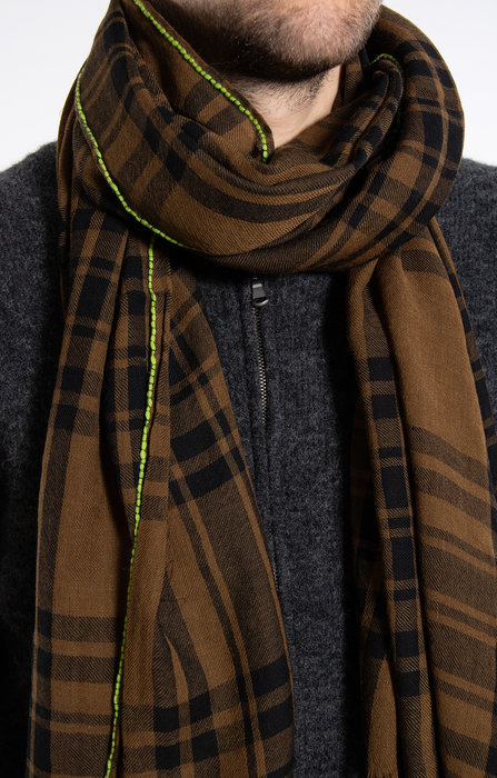 Lovat & Green Lovat & Green Shawl / Plaid / Kaki