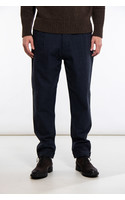 Universal Works Trousers / Pleated Pant / Navy