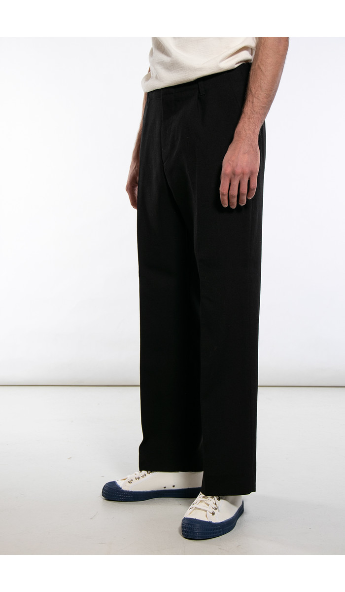 Our Legacy Our Legacy Broek / Borrowed Chino / Zwart