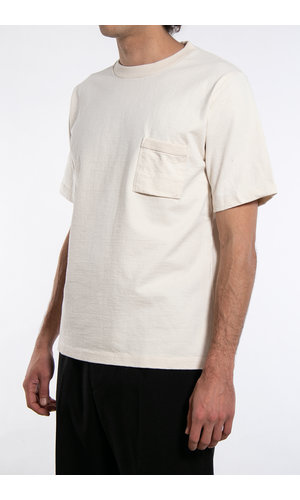 Jackman T-Shirt / Pocket / Ecru