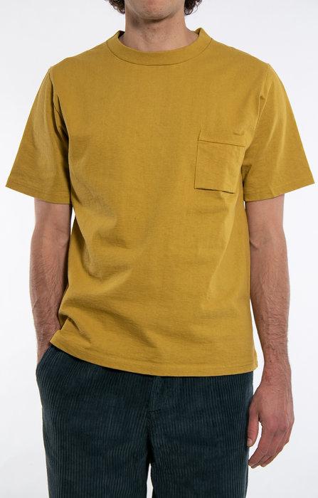 RoToTo Jackman T-Shirt / Pocket / Mustard