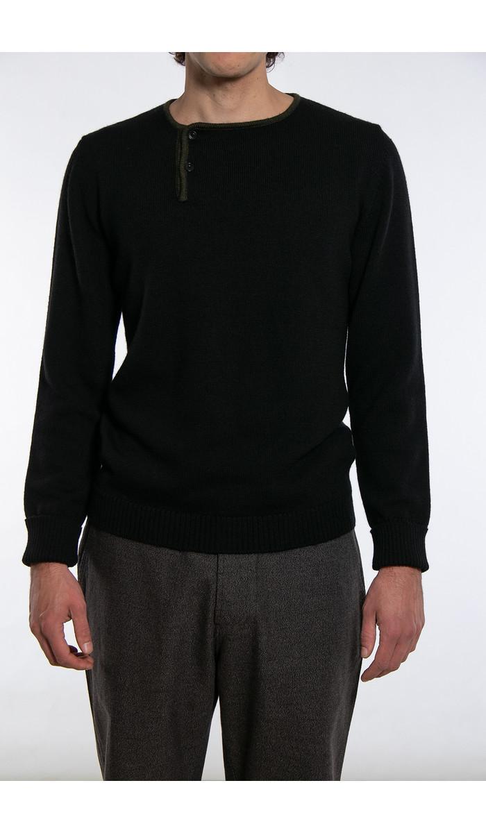 G.R.P. Firenze G.R.P. Sweater / Max 1 Bis / Black Green