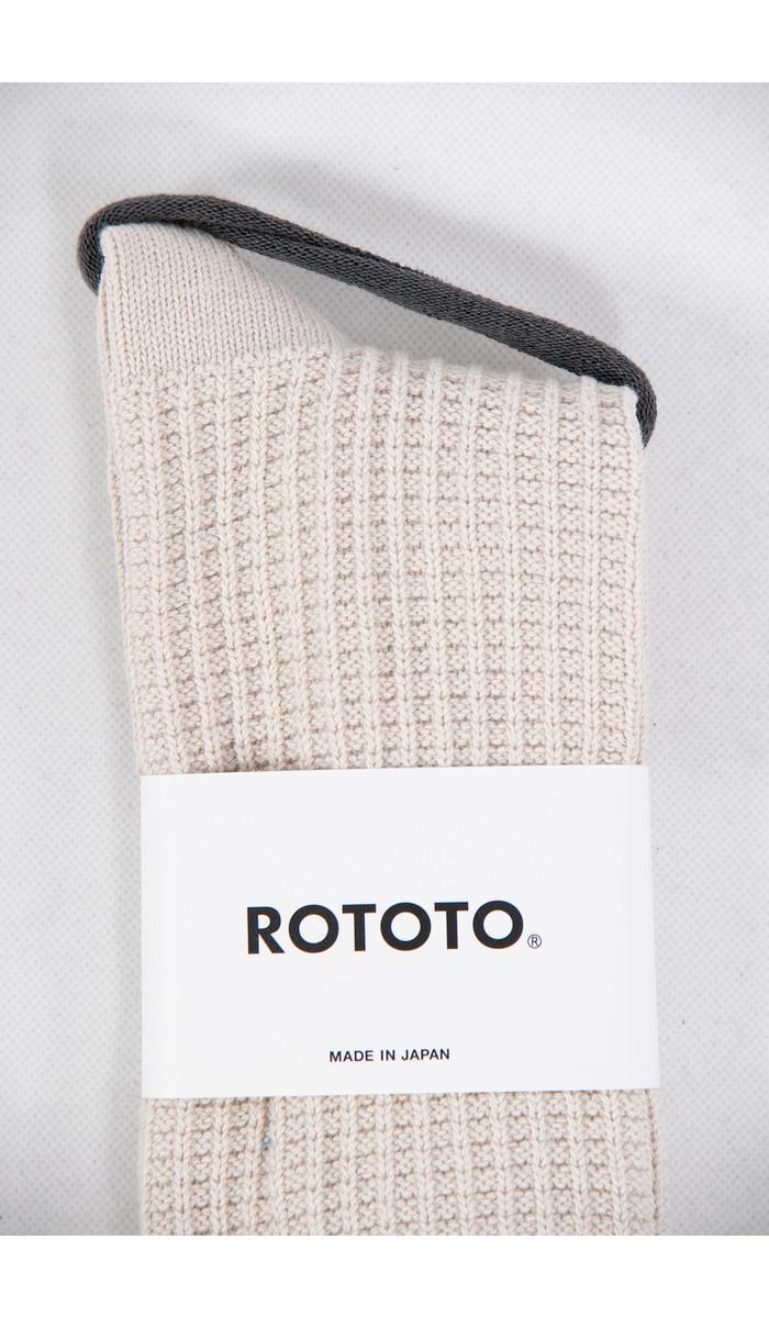 RoToTo RoToTo Sok / Waffle / Ecru