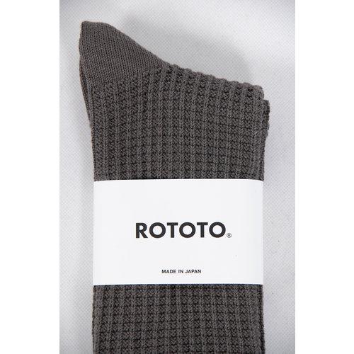 RoToTo RoToTo Sock / Waffle / Charcoal