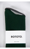 RoToTo Sock / Waffle / Green