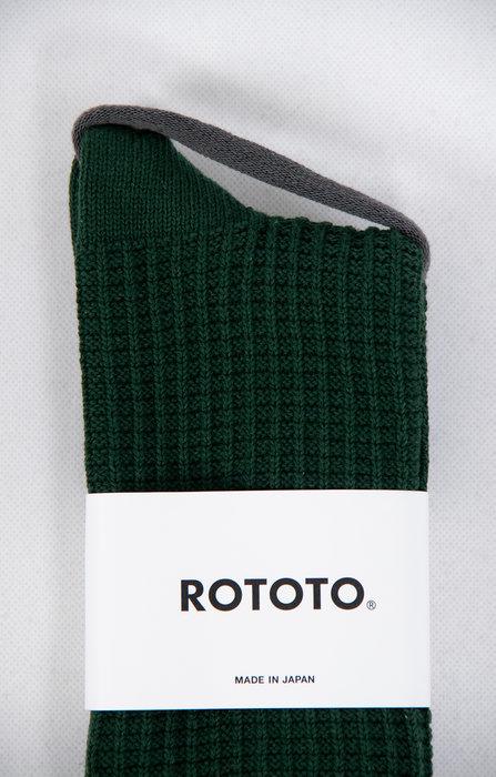 RoToTo RoToTo Sock / Waffle / Green