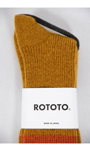 RoToTo RoToTo Sok / Brushed Mohair / Geel