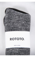 RoToTo Sock / Double Face / Grey