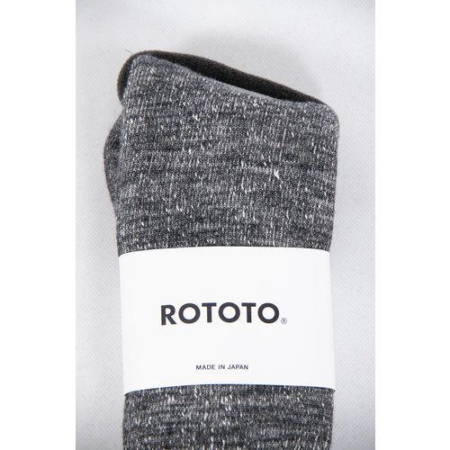 RoToTo RoToTo Sock / Double Face / Grey