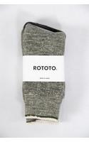 RoToTo Sok / Double Face / Olijf