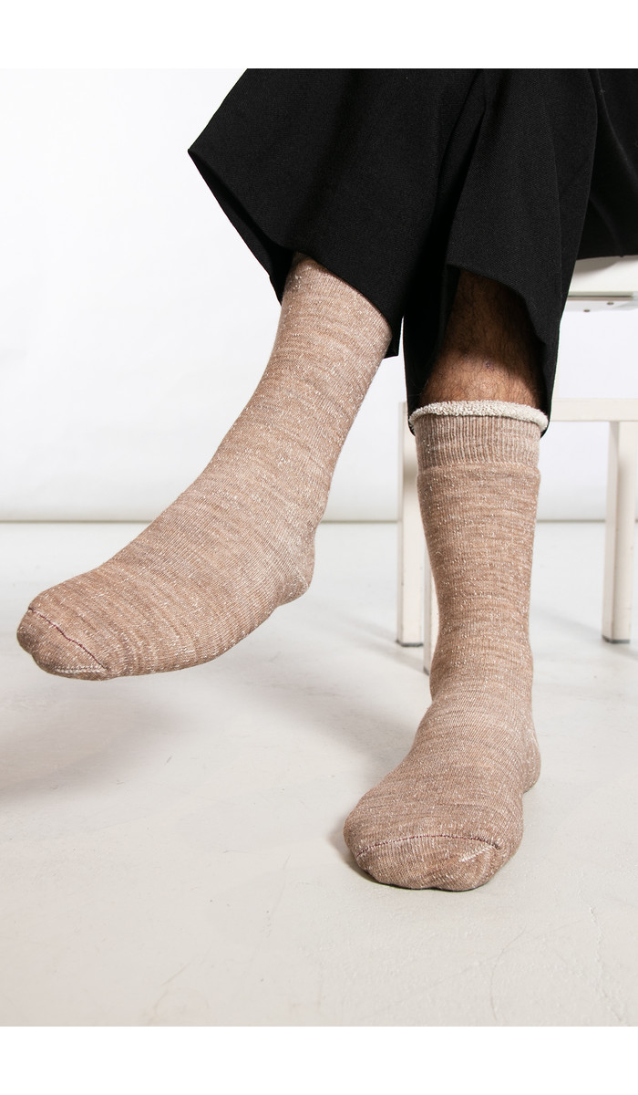 RoToTo RoToTo Sock / Double Face / Camel