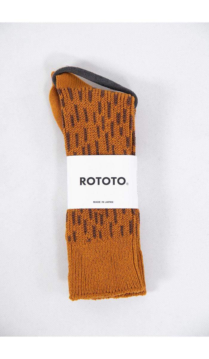 RoToTo RoToTo Sok / Rain Drop / Oranje