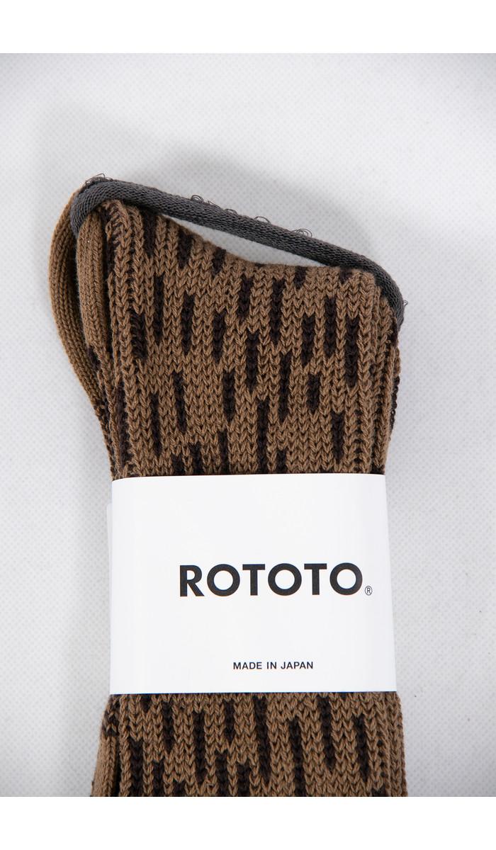 RoToTo RoToTo Sok / Rain Drop / Bruin