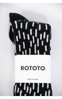 RoToTo Sok / Rain Drop / Zwart