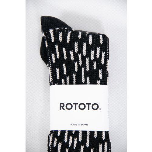 RoToTo RoToTo Sock / Rain Drop / Black