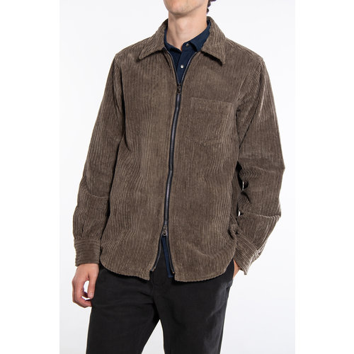Xacus Shirt Jacket / 449ML / Bruin Groen