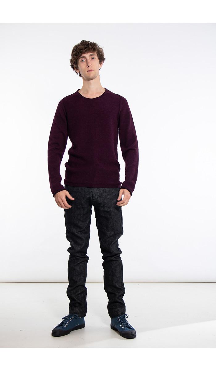 Hannes Roether Hannes Roether Sweater / Fudge / Burgundy