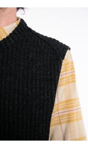7d 7d Vest / Nine / Licht Zwart
