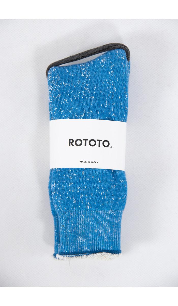 RoToTo RoToTo Sock / Double Face / Blue