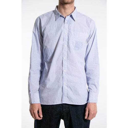 Universal Works Universal Works Shirt / Patch Shirt / Navy