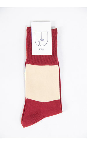 c r i s Sock / Tony Two Times / Red