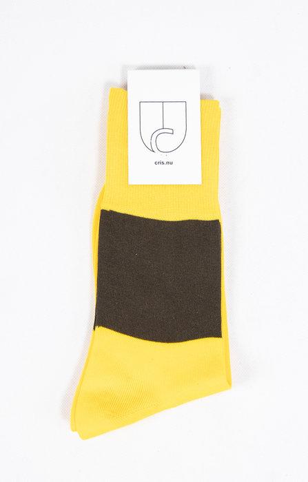 c r i s Sock / Tony Two Times / Yellow