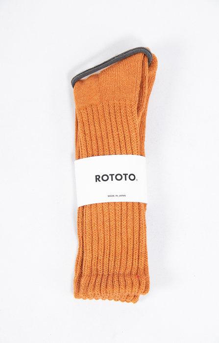 RoToTo RoToTo Sock / Loose Pile / Orange